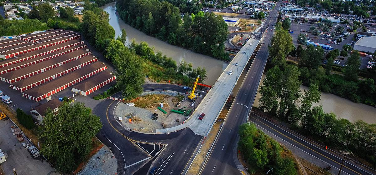 SR 167 Puyallup River Bridge Replacement | Atkinson Construction